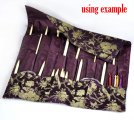 Purple Knitting Needle Case (DP & Hooks) 47x38cm, sold per packet of 1