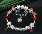 1 PC Handmade Charm Bracelet 20cm (Mother's Day Gift)