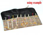 Multicolor Knitting Needle Case (DP & Hooks) 36x24cm, sold per packet of 1