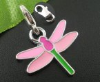 10PCs Enamel Dragonfly Clasp Stitch Markers