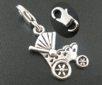20PCs Baby Carriage&Buggy Clasp Stitch Markers